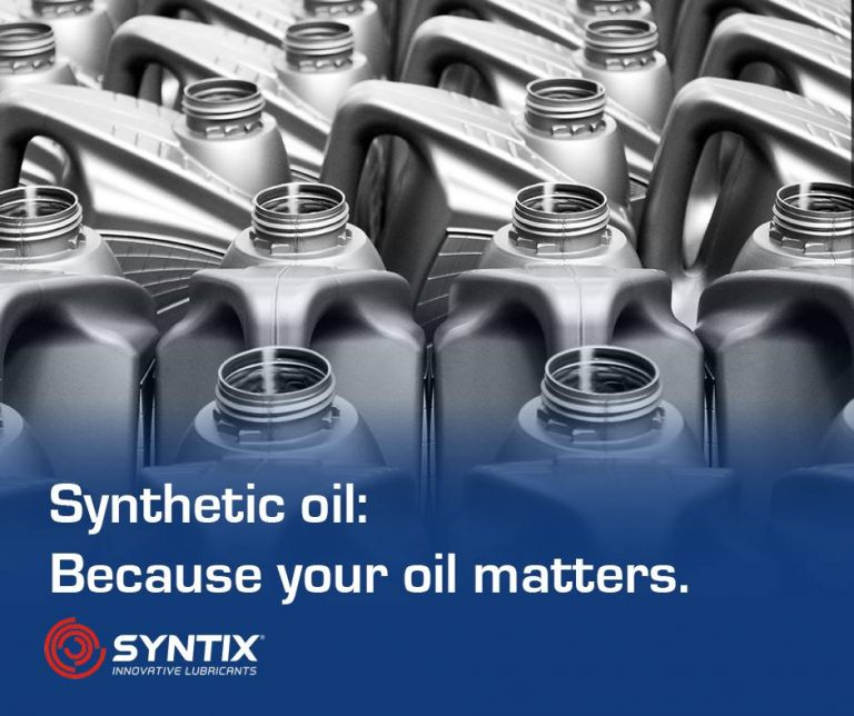 Your oil matters – Synthetic oil 2